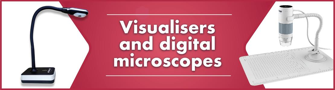 Visualisers and Digital Microscopes